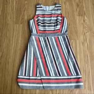 NWT Kate Spade ribbon jacquard faux wrap dress 14